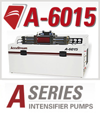 A-6015 A-Series Accustream Waterjet Cutting Machine Intensifier Pump