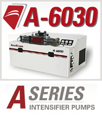 A-6030 A-Series Accustream Waterjet Cutting Machine Intensifier Pump