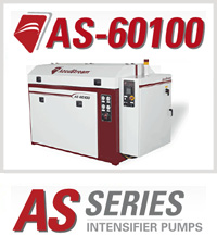Accustream AS-60100 Waterjet Cutting Machine Intensifier Pump