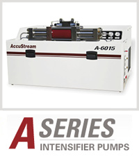 A-Series Accustream Waterjet Cutting Machine Intensifier Pump