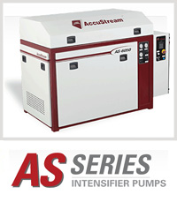 AS Series Accustream Waterjet Cutting Machine Intensifier Pump