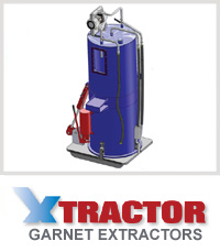 Waterjet Garnet Extractor